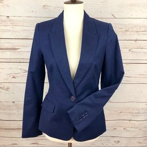 Zara Kate Middleton Fitted Navy Blazer